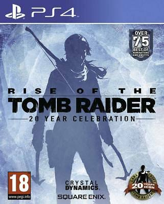 Rise of the Tomb Raider: 20 Year Celebration (PS4) BRAND NEW AND SEALED - IMPORT