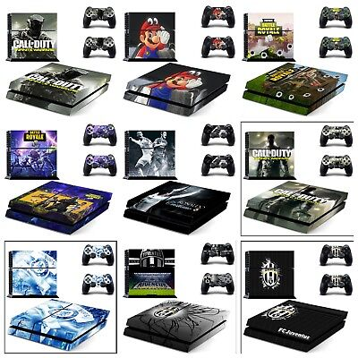 FORTNITE PS4 Console Skin Decal Vinal Sticker + 2 Controller Skins Set Protect