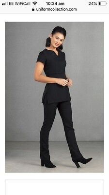 BNWOT Florence Roby Tunic Black Size 22