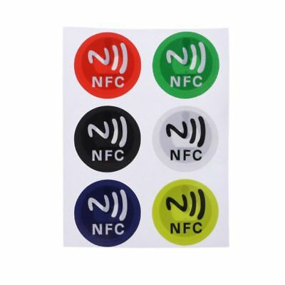 Waterproof PET Material NFC Stickers Smart Ntag213 Adhesive Tags For All Phones