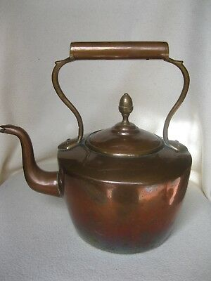 Vintage Copper Kettle Used Condition