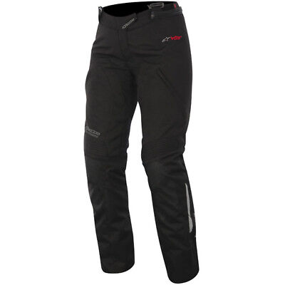 Alpinestars Stella Ladies Andes Drystar Textile Motorcycle Pants - Black Large