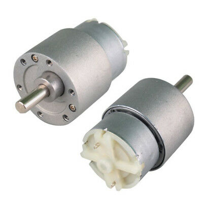 37mm/25mm 12V DC 3.5/15/60/100/120/300RPM torque gear box Motor For turbines CH1