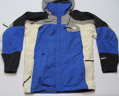 Vintage North Face Mountain Guide Jacket Men's Small Gore-Tex parka hood