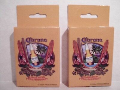 """Corona Extra Beer NEW """"Playing Cards"""" (8 Decks for One BLOWOUT PRICE!!!!!)"""