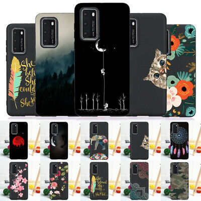 For Huawei PSmart P8 P9 Lite Mini 2017 Case Silicone Painted Slim Soft TPU Cover