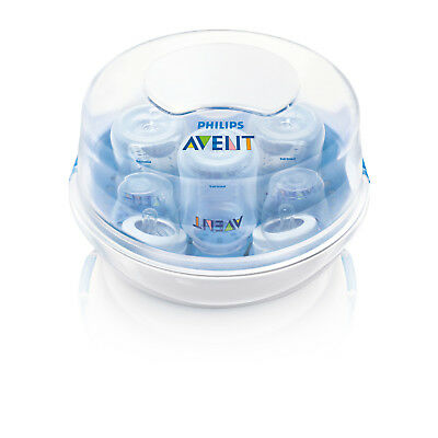 Microwave Steam Sterilizer BPA Free Philips Avent Antibacterial Baby Protection