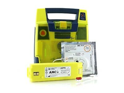 Cardiac Science Powerheart G3 Pro AED Defibrillator new Battery and new Pads