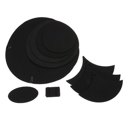 1 Set Drum Mute Silencer Pads Tablets Mats Mute Silencer Pads for Drum