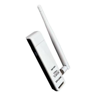 2X TP-Link 150M Lite-N High Gain Wireless USB Adapter With Detachable Antenna, A