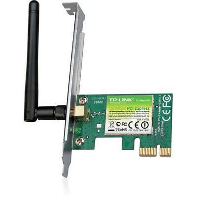 2X TP-Link 150M Lite-N Wireless PCI Express Adapter , works with 802.11n/g/b (TL