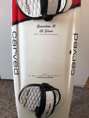 carved imperator 3 III Kiteboard 136 41 cm Core Hisstec No Naish North