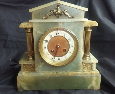 Antique  French 19th  Mantle Clock by Japy Freres.