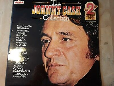 Johnny Cash Collection 2 Record Set   ,, Pda 005  ,, Guter Zustand