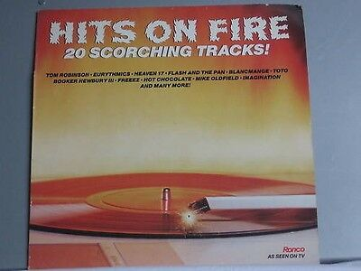 Hits On Fire 20 Scorching Tracks *LP*TOP*Ronco RTL 2095