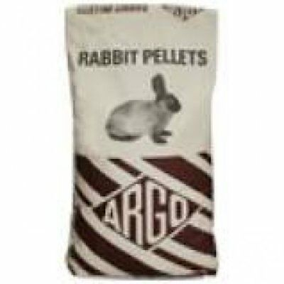 Argo Rabbit Pellets 20kg - Small Animal Rabbit Food / Pellet Compound Feed