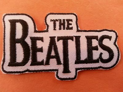 The Beatles Rock and Roll group embroidered iron on PATCH JOHN GEORGE PAUL RINGO