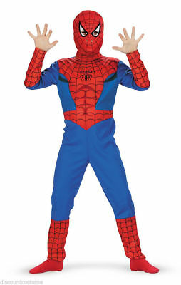 Disguise Spider-Man Child Standard Costume - L 10-12 - FREE SHIPPING