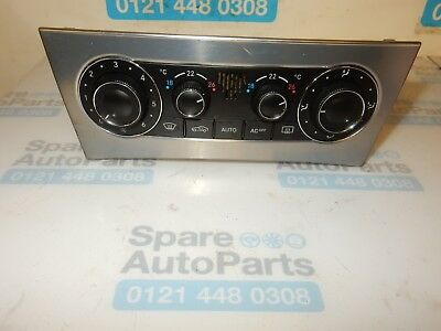 Mercedes C-Class Cl203, W203, Heater Climate Control Panel  A2038301785
