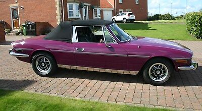 TRIUMPH STAG 1974 Mk II - Manual transmission with overdrive