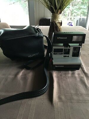 polaroid spirit 600 camera- Original Case