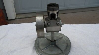 Miniature Gas Engine   Hand machined