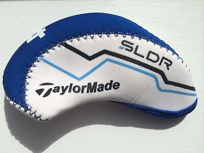 10  new RH taylormade SLDR white Blue Golf CLUB iron head covers headcovers