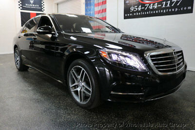 Mercedes-Benz S-Class SPORT LOADED. CARFAX CERTIFIED. BEST COLOR.  FACTORY WARRANTY. CALL 954-744-1177