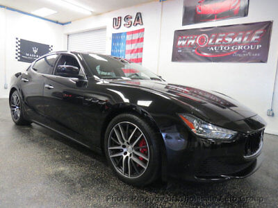 Maserati Ghibli 4dr Sedan S Q4 ONE OWNER CARFAX CERTIFIED. MUST SEE. NATIONWIDE SHIPPING. WHOLESALE PRICE