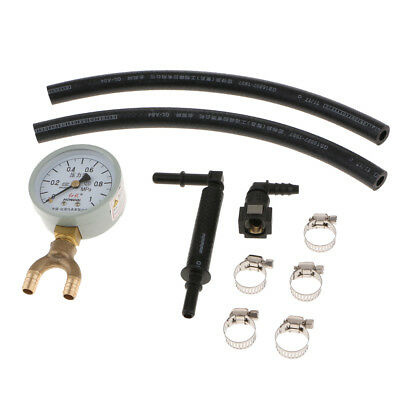 Fuel Injection Pump Pressure Tester Injector Pressure Gauge Gasoline Kits