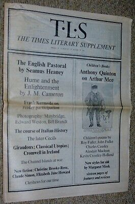 The Times Literary Supplement 11 July 1975