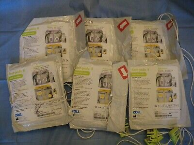 6 Zoll stat padz II defib Electrodes Pads adult for training only 8900-0802