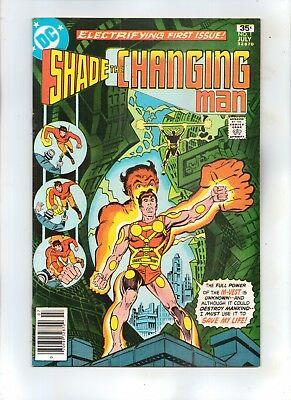 SHADE THE CHANGING MAN No 1 First Issue! ESCAPE TO BATTLEGROUND EARTH!