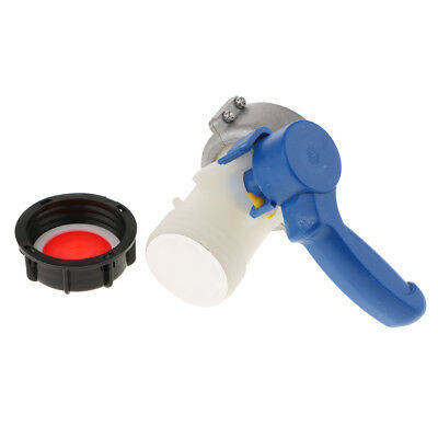 Heavy Duty 75mm Tote Tank Butterfly Valve Taps Adapter Oil Water Container