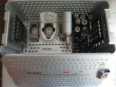 Stryker System 5 Set Surgical Orthopedic 4206 4103, 4106 w/Case