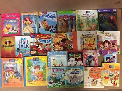 Lot of 20 Chapter Scholastic Disney RL 2 3 4 5 Child Books AR MIX UNSORTED #F59