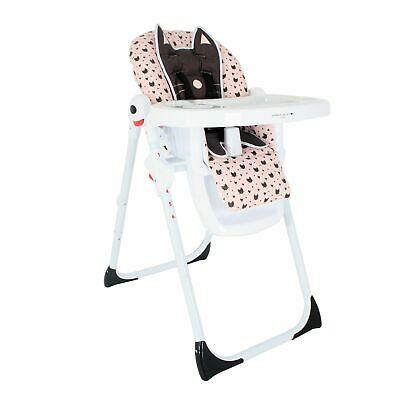 My Babiie Catwalk Collection By Abbey Clancy Baby Feeding Highchair - Black Cats