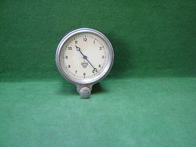 1920s Vintage Smiths MA L Clockwork Wind-up Brass Cased Car Clock for Dashboard
