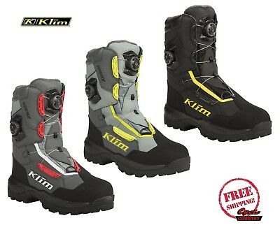 Klim 2019 Adrenaline Pro Gtx Boa Boots Gore-Tex Insulated Waterproof Snowmobile
