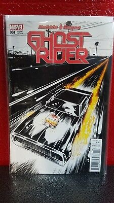 Ghost Rider #1 One Per Store Variant Edition Nm 2017 1St Robbie Reyes Gr  Marvel