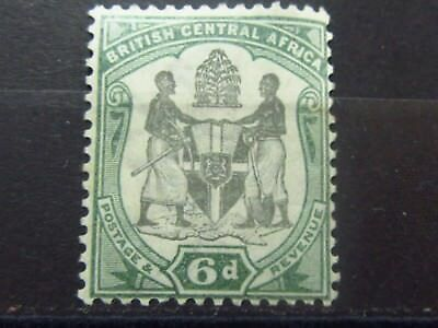 British CENTRAL AFRICA BCA Colonies Old Stamp - Mint MH - VF-r32e5554