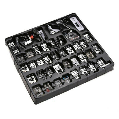 42pieces Domestic Sewing Machine Foot Presser Feet Set for Brother Singer Janome