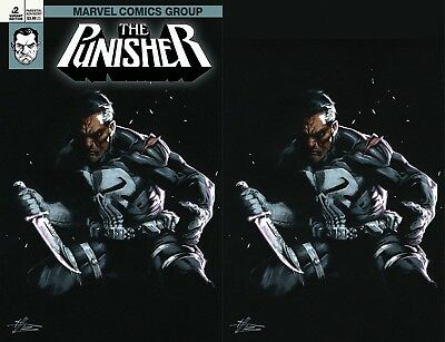 Punisher 2 V11 2018 Dell Otto Igc 2 Pack Virgin Texted Variant Nm