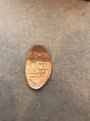 1982 Knoxville Tennessee World's Fair Elongated Cent **nice Collectible**