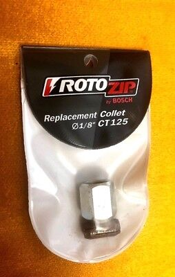 RotoZip Genuine OEM Replacement Collet and Nut Kit # CT125