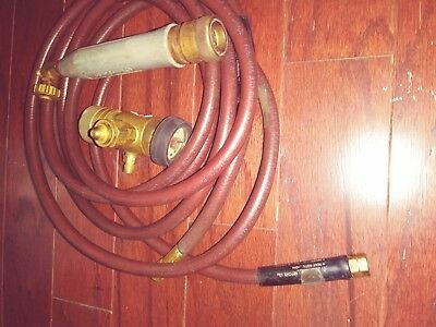 Used Turbotorch Acetylene Torch, Hose & Regulator AR-MC A-3 TIP