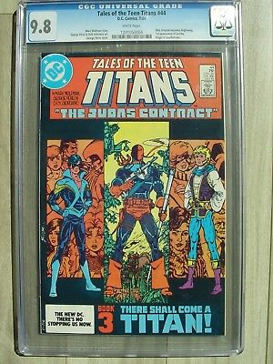 Tales of the Teen Titans 44 CGC 9.8 WP 1st Nightwing Dick Grayson Deathstroke!