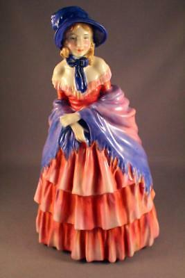 BEAUTIFUL ROYAL DOULTON HN 728 A VICTORIAN LADY FIGURINE c.1935 - PERFECT
