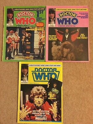 DOCTOR WHO Monthly  44,-46 1980
