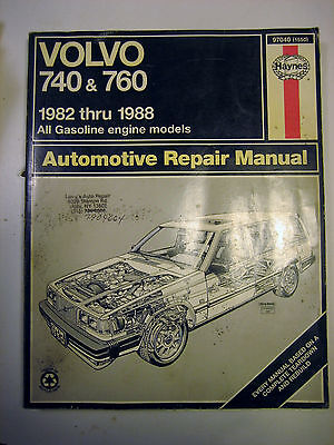 volvo 740 1988 owners manual used 12 74 picclick rh picclick com Volvo 244 1990 Volvo 740 Turbo Specifications